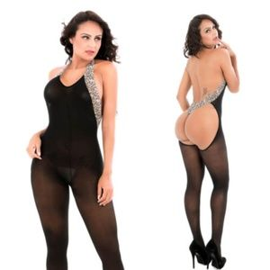 Other - NWOT Leopard bodystocking